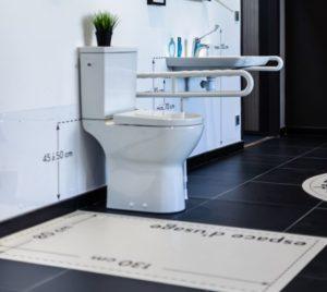 Norme WC handicapé