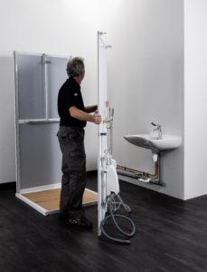 Rénover une salle de bains PMR