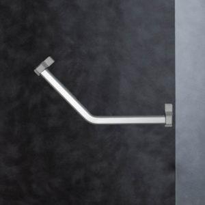 barre d'appui coudée 135°