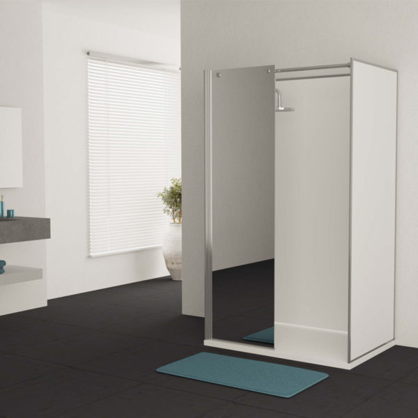 cabine de douche option miroir