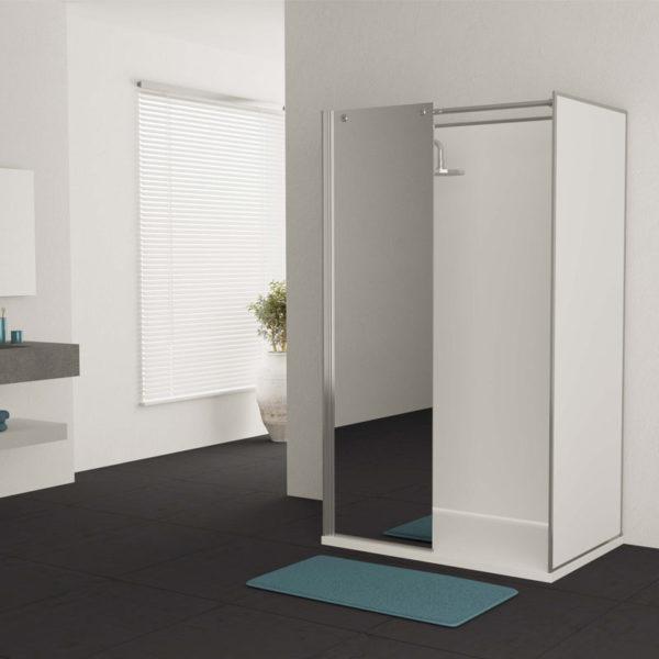 cabine de douche option miroir