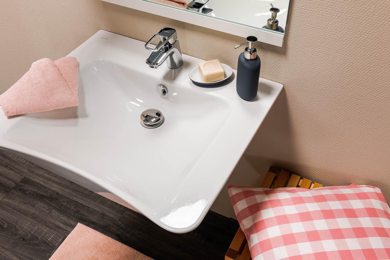 Lavabo Personne Mobilité Réduite 33-1 lavabo pmr - collection idhraqua