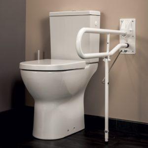 Idhraqua - Barre d'appui WC rabattable
