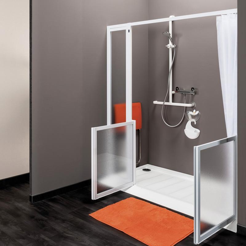 parois de douche en niche collection idhraqua. Black Bedroom Furniture Sets. Home Design Ideas
