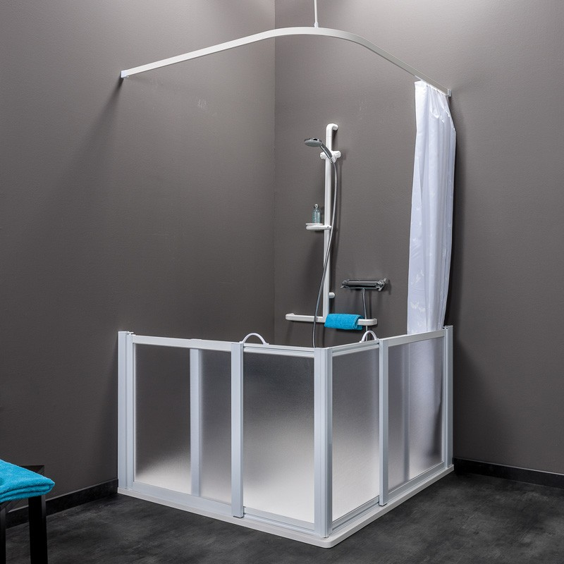 porte de douche coulissantes collection idhraqua. Black Bedroom Furniture Sets. Home Design Ideas