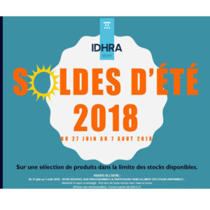 SOLDES ETE 2018 - IDHRA Vichy